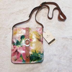Patricia Nash Veg Tan Venezia Spring Messenger Bag